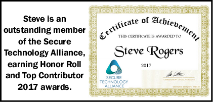 Steve's Achievements 2017